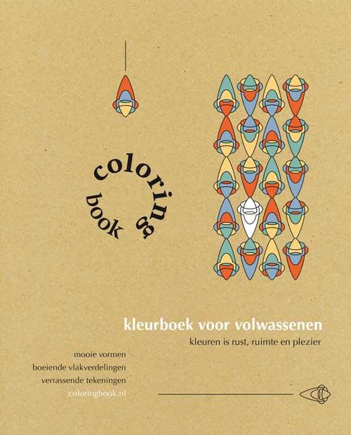 De omslag van het coloring book op coloringbook.nl